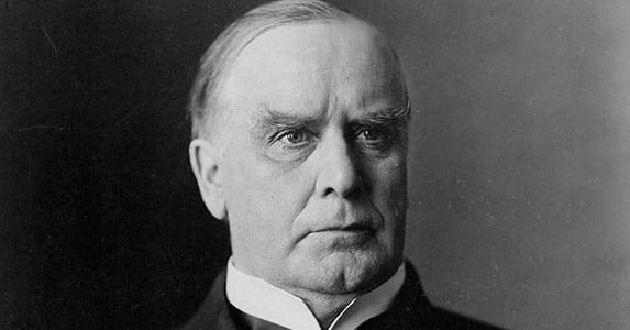 William McKinley (1897-1901) | Public domain