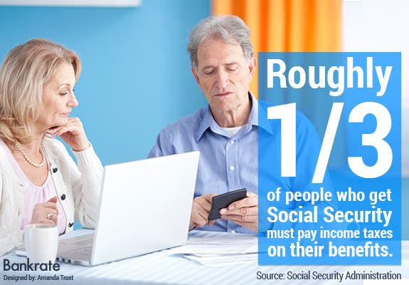 Roughly one-third of people who get Social Security must pay income taxes on their benefits.