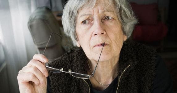 Senior woman thinking | triffitt/Getty Images