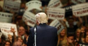 Donald Trump in rally | Spencer Platt/Getty Images