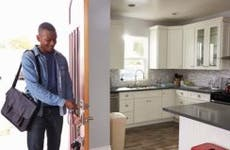 Man opening door to house after work   Monkey Business Images/Shutterstock.com
