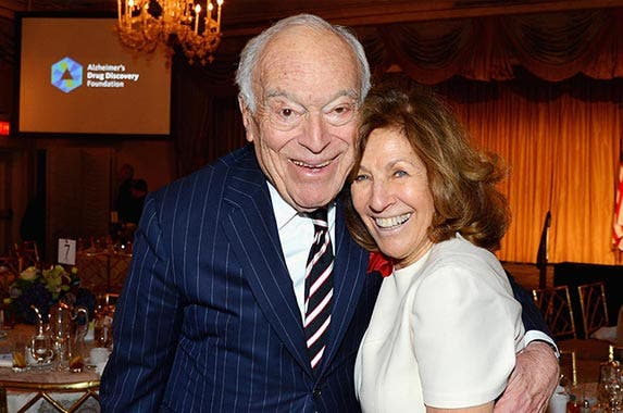 No. 12: Lauder family | Leonard Lauder and Judy Lauder attend the Alzheimer's Drug Discovery Foundation Seventh Annual Fall Symposium & Luncheon at The Pierre Hotel on Nov. 14, 2016 in New York City. (Patrick McMullan/Getty Images)