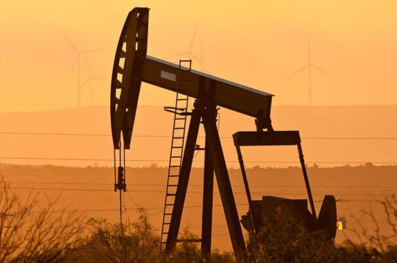 No. 10: Duncan family | A jackpump pumps oil in Texas, the Duncan family made its fortunes in Texas oil. (Danita Delimont/Getty Images)