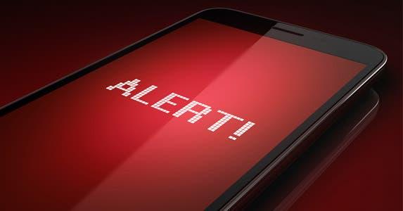 Set up alerts © iStock