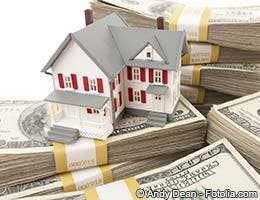Home equity line of credit on either house