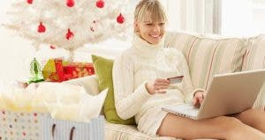 Woman shopping from her living room   Gazimal/Getty Images