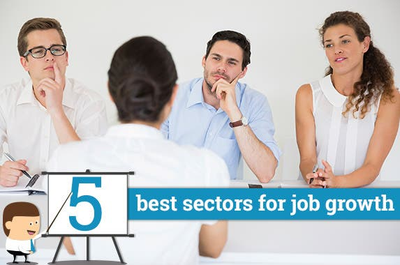 5 best sectors for job growth