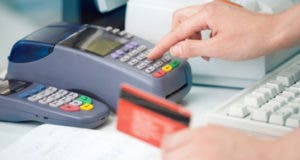 Card reader and red credit card