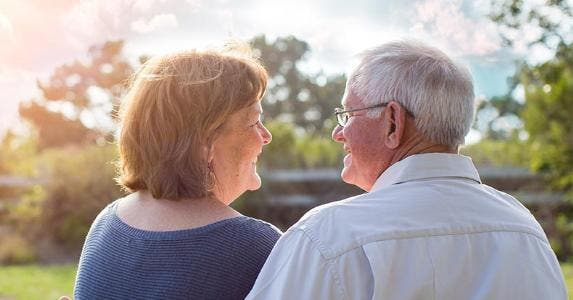 Senior couple smiling at each other © Phase4Studios/Shutterstock.com