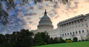 Capitol hill building in the morning © rabbit75_fot - Fotolia.com