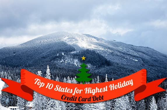 Top 10 states for holiday credit card debt © Nickolay Khoroshkov/Shutterstock.com