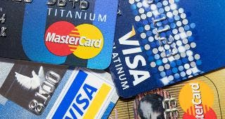 Visa and MasterCard credit cards © Ti_ser/Shutterstock.com