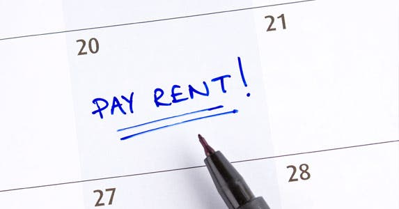 Waiting on roommate's rent payment © iStock
