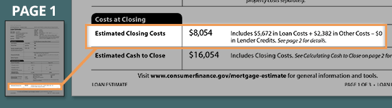 How much are the closing costs?