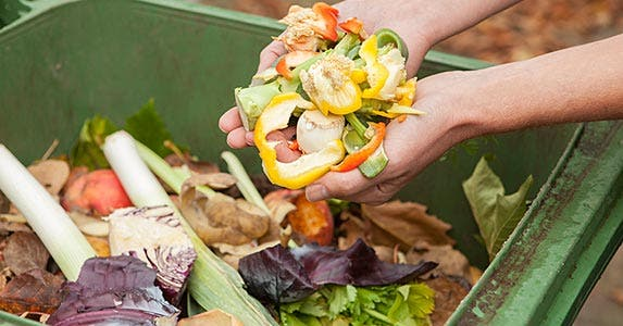 Composting at home | iStock.com/BartCo