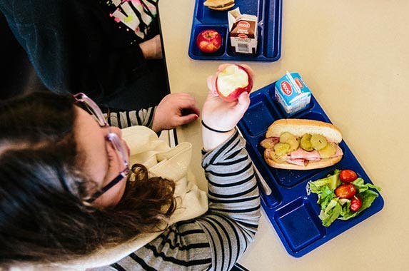 Federal School Lunch Program | Portland Press Herald/Getty Images