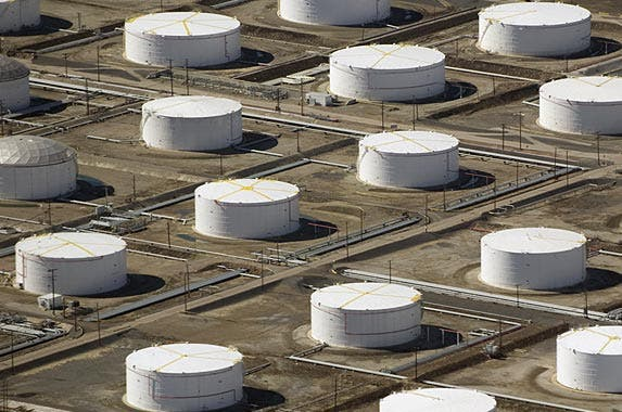 How oil fortunes are dwindling | SAUL LOEB/AFP/Getty Images