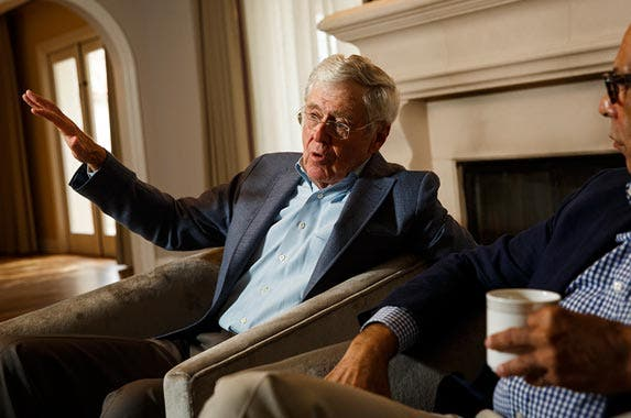 Charles Koch | The Washington Post/Getty Images