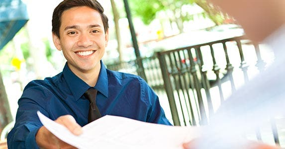 Write a resume; learn to network | Steve Debenport/Getty Images