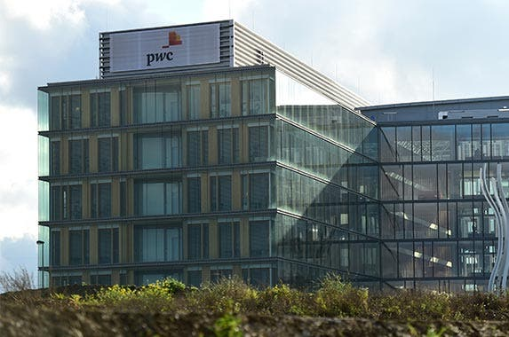 PricewaterhouseCoopers | EMMANUEL DUNAND/Getty Images
