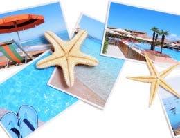 A set of beach photos