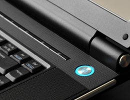 Power button of laptop