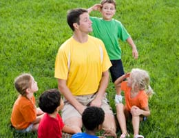 Enjoy the great outdoors as a camp counselor