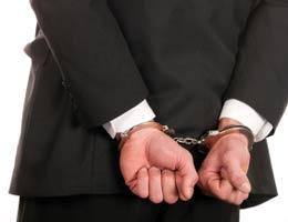 Man in cuffs