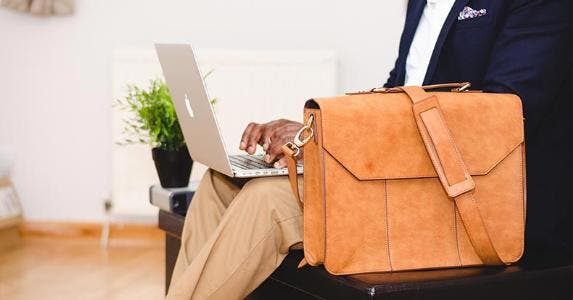 Man using Macbook | Olu Eletu/Stocksnap