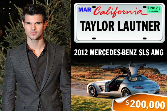 Top celebrities and their pricey rides - Taylor Lautner