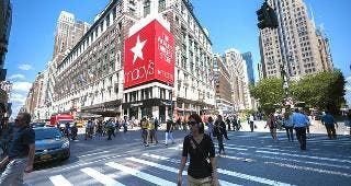 Macy's flagship store in New York © Richard Levine/Demotix/Corbis