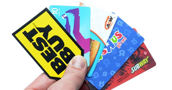 Keep prepaid cards in one place © iStock