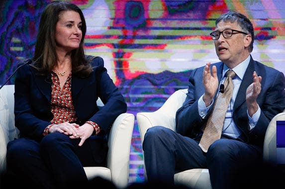 Bill and Melinda Gates © RUBEN SPRICH/Reuters/Corbis