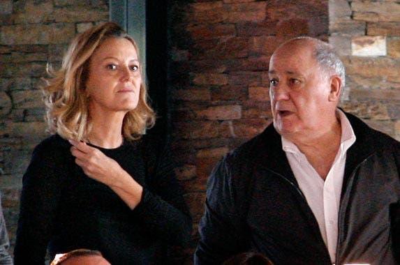 Amancio Ortega Gaona and Flora Perez © EFE/ZUMApress.com