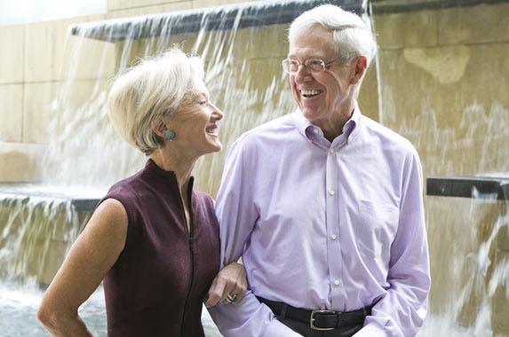 Charles and Elizabeth Koch © Bo Rader/TNS/ZUMAPRESS.com