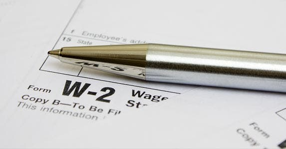 About the W-2s © restyler/Getty Images