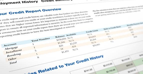 Speaking of the credit report | iStock.com/SpiffyJ