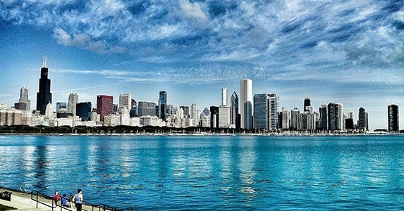 No. 7: Chicago | Frank Schiefelbein / EyeEm/Getty Images