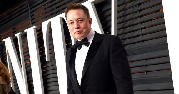 elon musk larry busacca vf15 getty images