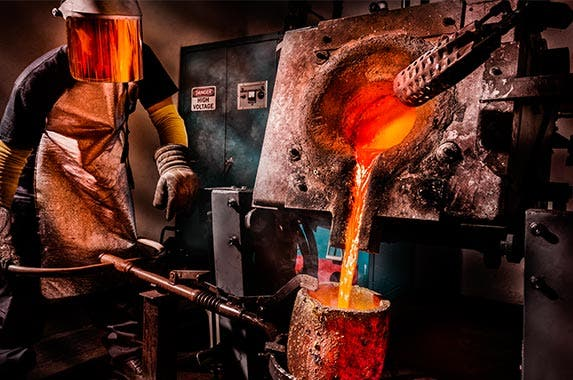 Primary metals manufacturing | HadelProductions/GettyImages