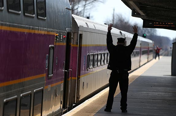 Rail transportation | Boston Globe/GettyImages