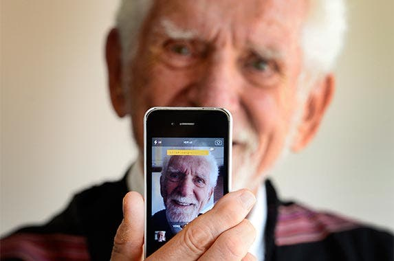 Martin Cooper | AFP/Getty Images
