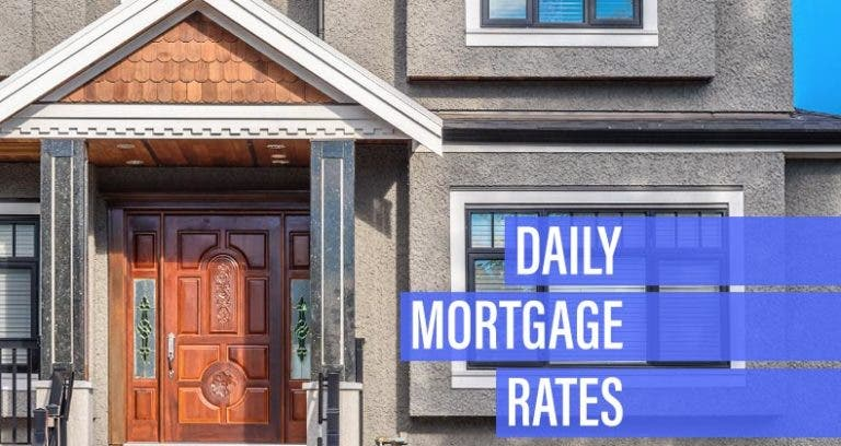 Mortgage rates move lower for Monday