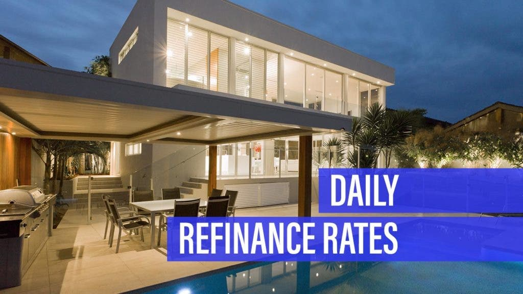 Refinance mortgage rate moves lower for Monday