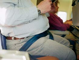 Effects of obesity on travel costs