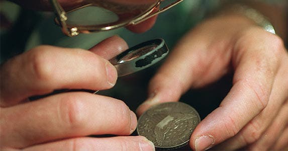 Heads up on coins | Robert Lachman/Getty Images