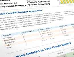 The card may show up on your credit history