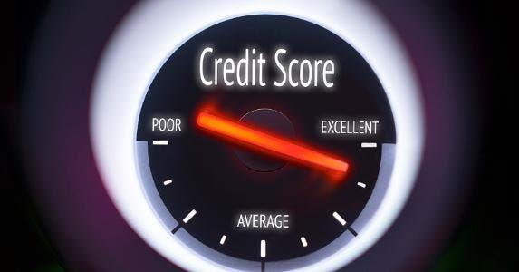 Credit score gauge © iStock