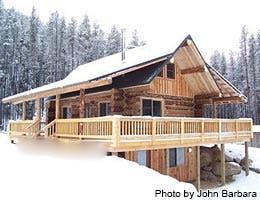 Retirement lifestyle: A remote cabin