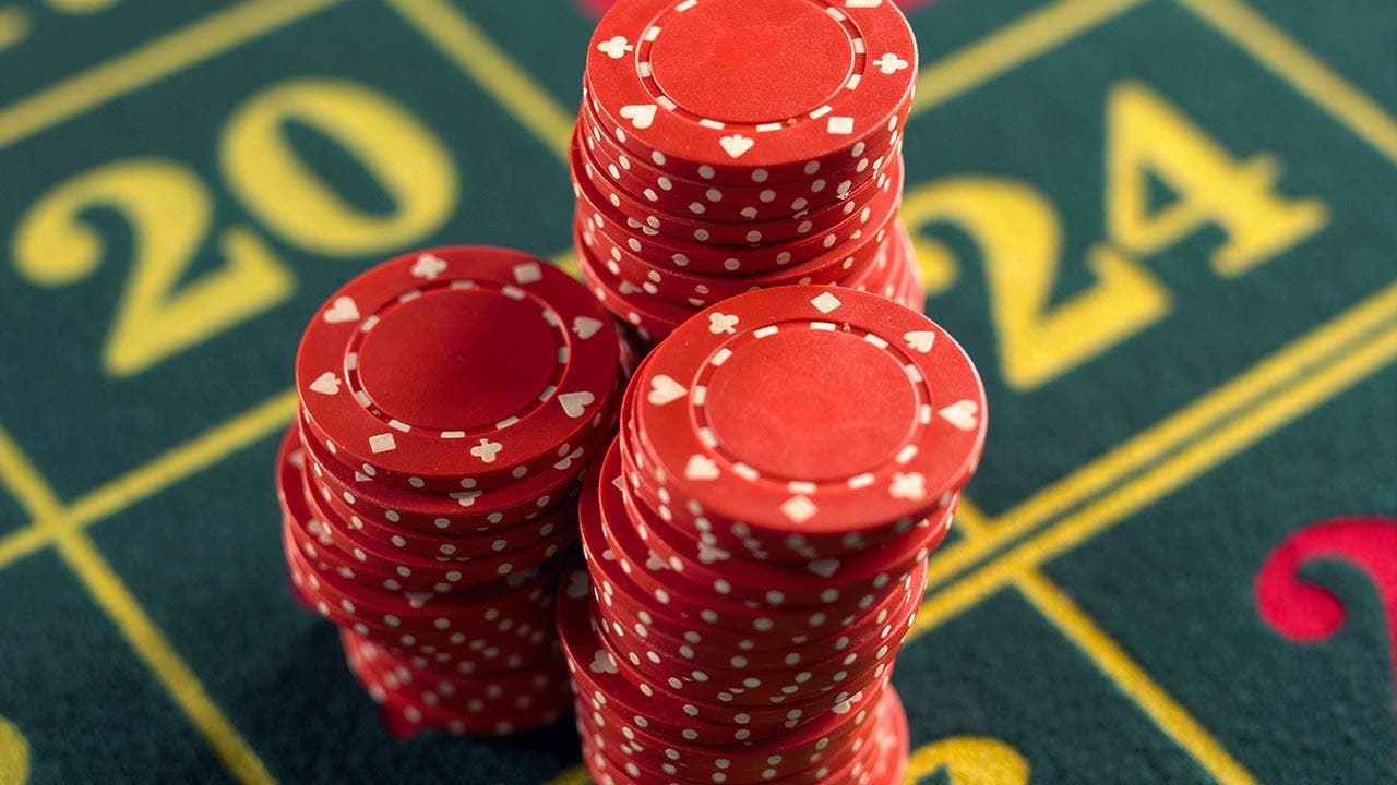 Gambling chips | Adam Gault/Getty Images